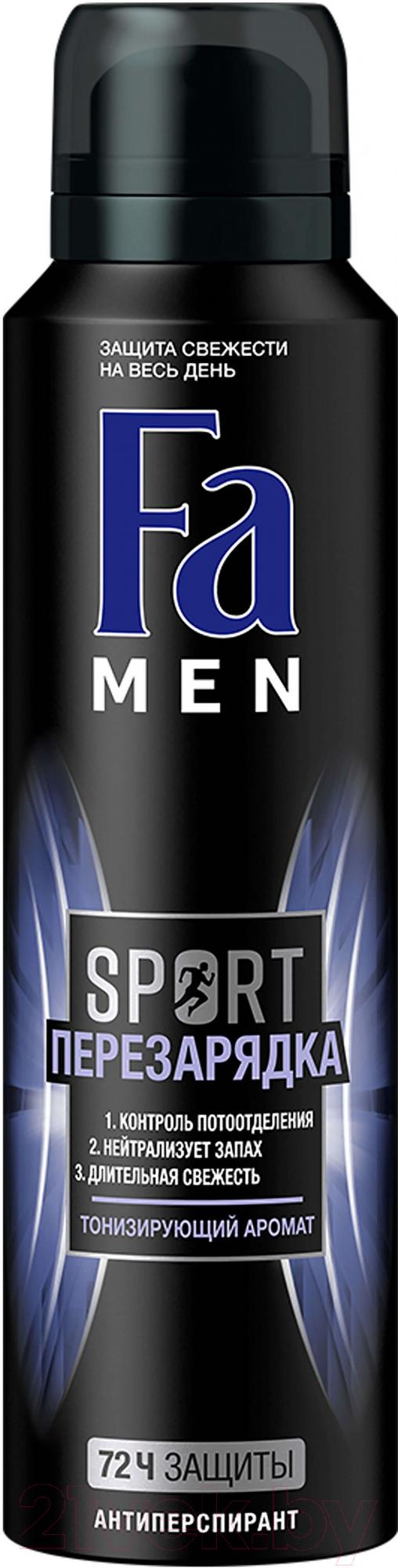 Купить Дезодорант-спрей Fa, Men Sport перезарядка (150мл), Россия