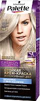 Крем-краска для волос Palette Стойкая C10 / 10-1 (серебристый блондин) -