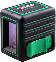 Лазерный уровень ADA Instruments Cube Mini Green Basic / А00496 -