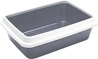 Туалет-лоток Ferplast Dodo / 72043099 (серый) -