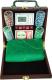 Набор для покера No Brand 6641-M1 (в чемодане, 100 фишек) -