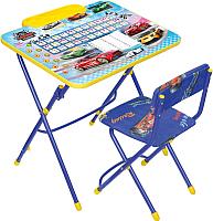 Комплект мебели с детским столом Ника КУ3/15 Большие гонки -