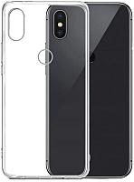 Чехол-накладка Case Deep Matte для Redmi Note 6 Pro (прозрачный) -