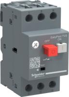 Автоматический выключатель пуска двигателя Schneider Electric EasyPact TVS GZ1E04 -