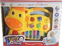 Музыкальная игрушка Pir Holding Пианино Коровка / 1601 -