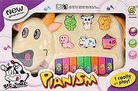 Музыкальная игрушка Pir Holding Пианино Коровка / 6600 -