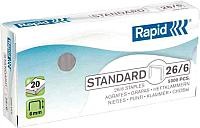 Скобы для степлера Rapid Standard 26/6 5M / 24861800 -