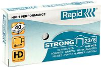 Скобы для степлера Rapid Strong 23/8 1M / 24869800 -