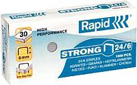 Скобы для степлера Rapid Strong 24/6 1M / 24855800 -