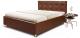 Полуторная кровать Мебель-Парк Софи 200x140 (коричневый) -