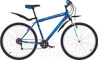 Велосипед Challenger Agent 26 2019 (20, синий/белый/голубой) -