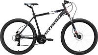 Велосипед STARK Hunter 27.2 HD 2019 (18, чёрный/белый/серый/красный) -