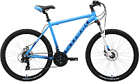 Велосипед STARK Indy 26.2 D 2019 (20, голубой/синий/белый) -