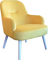 Кресло мягкое MobilaDalin Toledo (Classic Vie Yellow) -