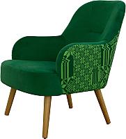 Кресло мягкое MobilaDalin Toledo (Ambiente Doina Verde/Lady 16) -