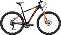 Велосипед STARK Router 29.4 HD 2019 (22, чёрный/оранжевый/серый) -