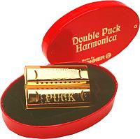 Губная гармошка Hohner Double Side Puck CG 553/40 / M55333 -