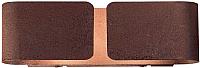 Светильник Ideal Lux Clip AP2 Small Corten 187365 -