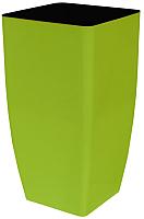 Вазон Алеана Квадро 115037 (оливковый) -