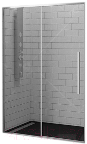 Купить Душевая дверь RGW, SV-12 Easy / 32321210-11 (100x195, хром/прозрачное стекло), Германия