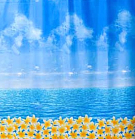 Шторка-занавеска для ванны Miranda Ocean Fresh -