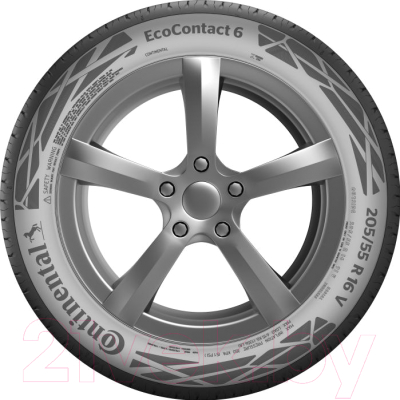 Летняя шина Continental ContiEcoContact 6 215/55R16 93V