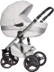 Детская универсальная коляска Riko Brano Ecco 2 в 1 (silver white) -