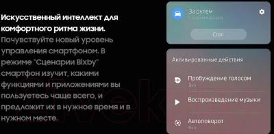 Смартфон Samsung Galaxy S10+ 128Gb / SM-G975FZKDSER (оникс)