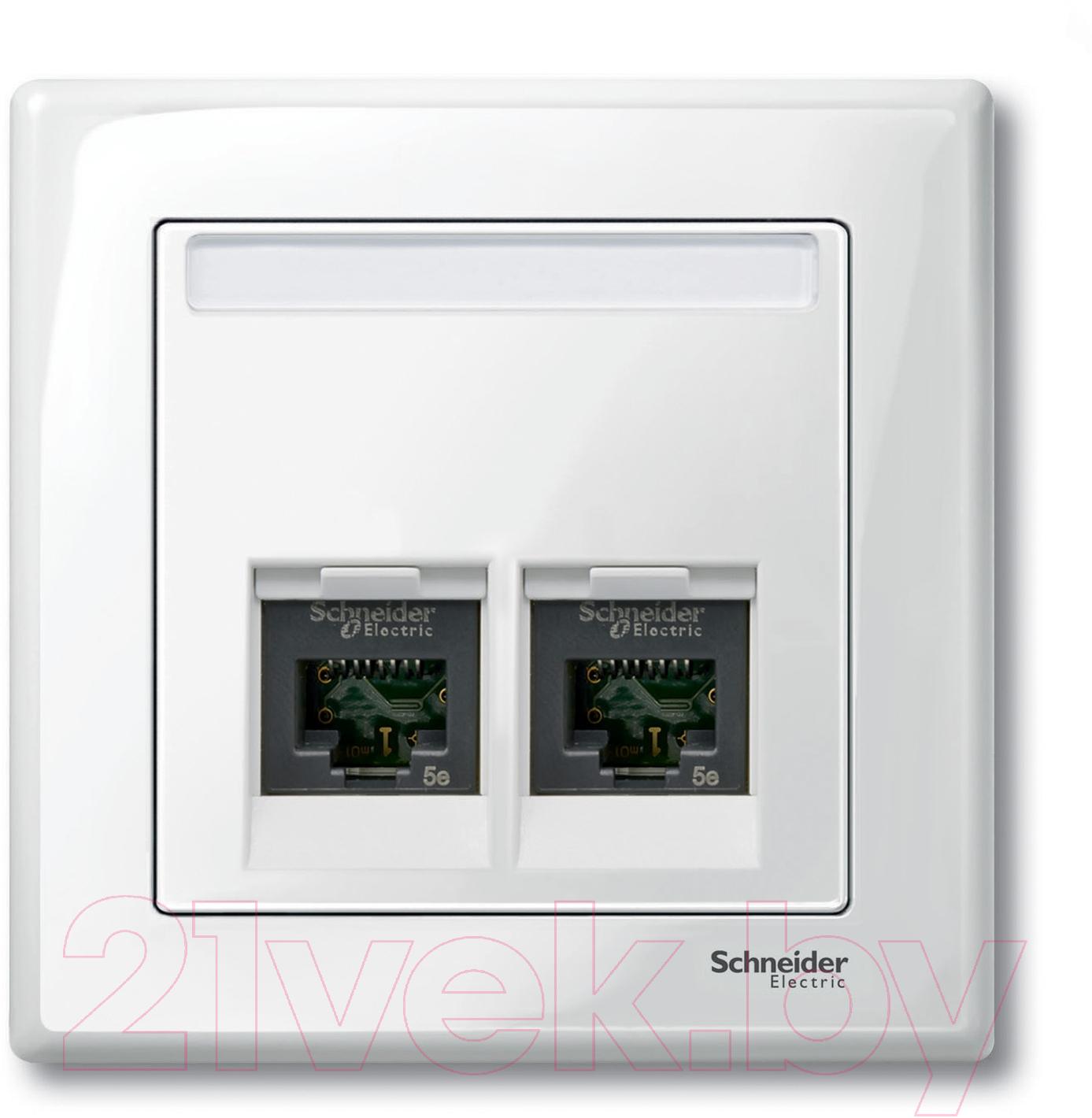 Лицевая панель для розетки Schneider Electric, Merten MTN469919, Россия, поликарбонат, Merten System M (Schneider Electric)  - купить со скидкой