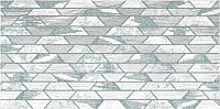 Декоративная плитка Нефрит-Керамика Арагон Трапеция / 04-01-1-18-03-00-1239-0 (600x300, белый) -