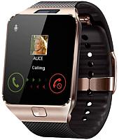 Умные часы Wise DZ09 (золото/черный) -