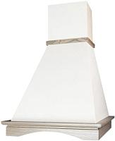 Вытяжка купольная Elikor Вилла 60П-650-П3Л (белый/дуб неокрашенный) -