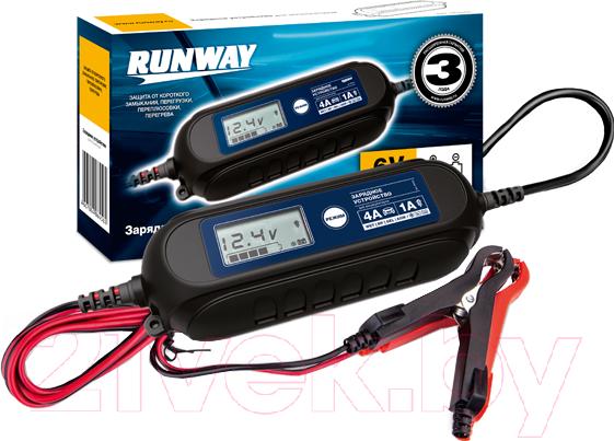 Купить Зарядное устройство автомобильное RUNWAY, RR105, Китай, черный