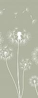 Фотообои листовые Citydecor Одуванчик (100x254) -