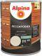 Защитно-декоративный состав Alpina Лессировка (750мл, белый) -