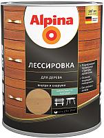 Защитно-декоративный состав Alpina Лессировка (2.5л, кедр) -