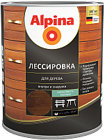 Защитно-декоративный состав Alpina Лессировка (2.5л, палисандр) -