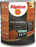 Защитно-декоративный состав Alpina Лессировка (750мл, рябина) -