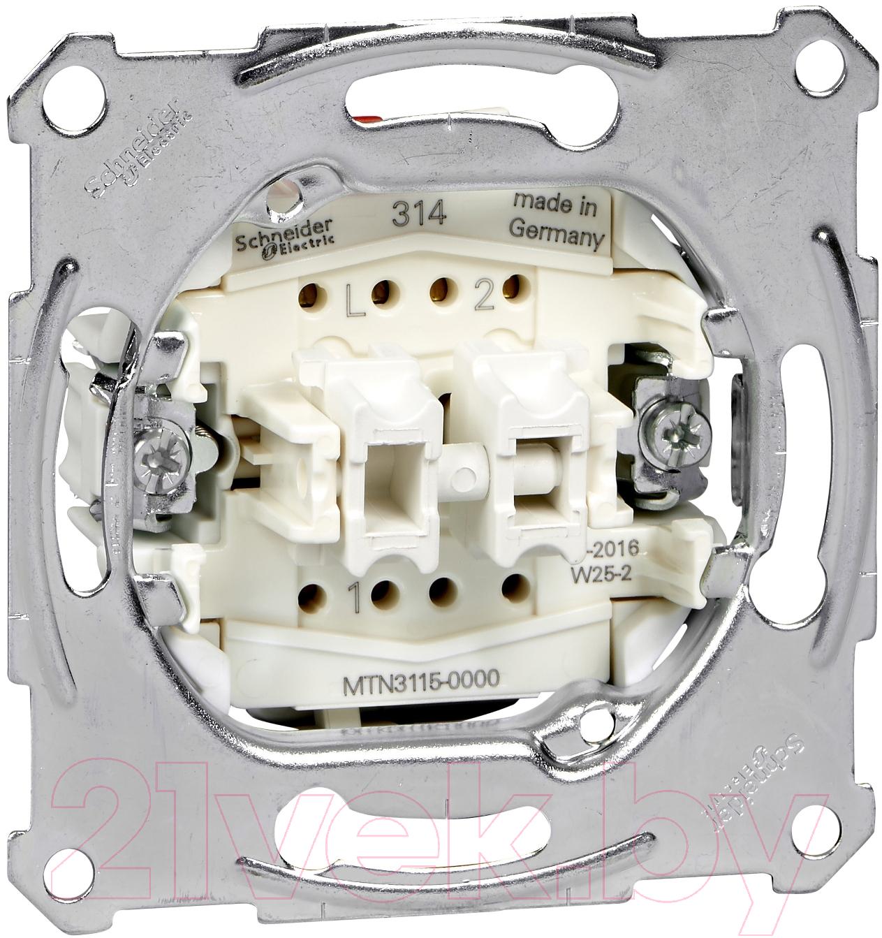 Купить Выключатель Schneider Electric, Merten MTN3115-0000, Россия, пластик, Merten Aquadesign (Schneider Electric)