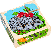 Развивающая игрушка Томик Кубики. Животные леса / 4444-4 -