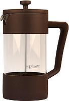 Френч-пресс Maestro MR-1659-1000 (коричневый) -