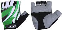 Перчатки велосипедные STG Х61887-М (M, зеленый) -