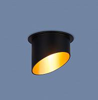 Точечный светильник Elektrostandard 7005 MR16 BK/GD -