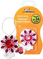 Ароматизатор Airline Цветок на дефлектор / AF-D02-SC (сочная вишня) -