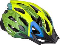 Защитный шлем STG MV29-A / Х89038 (M, салатовый/синий/черный) -