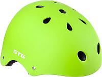 Защитный шлем STG MTV12 / Х89043 (S, салатовый) -