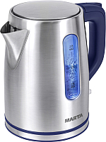 Электрочайник Marta MT-1093 (синий сапфир) -