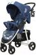 Детская прогулочная коляска Rant Kira Mobile / RA055 (синий) -