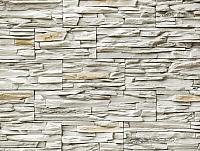 Декоративный камень РокСтоун Слоистый кварц 100П (белый) -