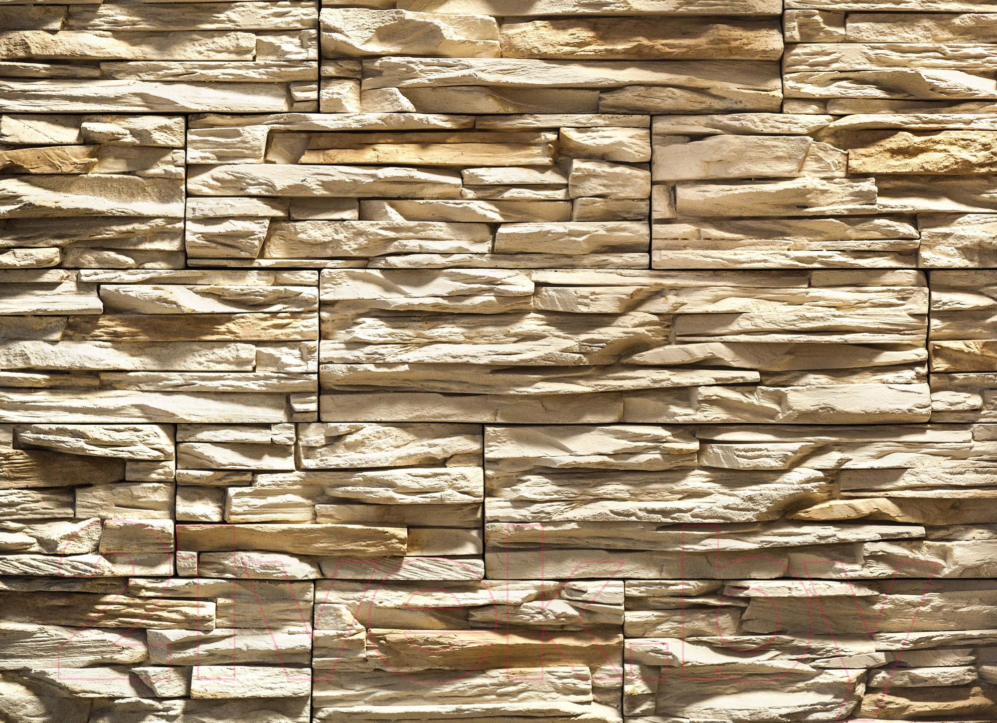Купить Декоративный камень РокСтоун, Слоистый кварц 101П (светло-бежевый), Беларусь, бетон